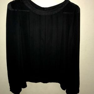 Forever 21 Contemporary Pleated Blouse